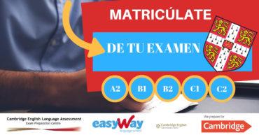 examenes cambrdige Almería